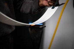 Aztarna, enseigne lumineuse LED plasturgie Pau